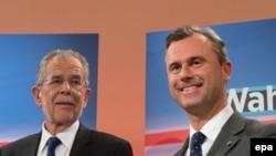 Александер Ван дер Беллен и Норберт Хофер