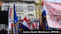 Протестите во Хрватска