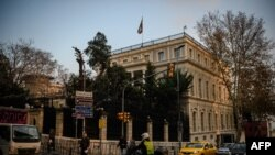 A view of the Iranian consulate in Istanbul. FILE PHOTO