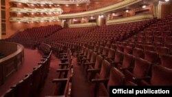 Հայաստան - Թատրոններից մեկի դատարկ դահլիճը, մայիս, 2020թ.