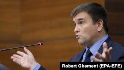 Голова МЗС України Павло Клімкін