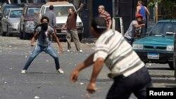 Під час однієї з сутичок на вулицях Каїра