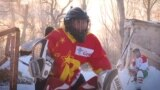 'We Never Give Up' - Meet Kyrgyzstan's First Female Ice Hockey Team video grab