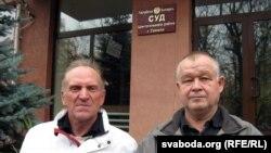 Уладзімер Кацора і Ўладзімер Няпомняшчых.