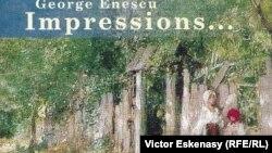 Coperta CD-ului înregistrat de Mihaela Martin cu Sonatele lui George Enescu (Bis, 2002)