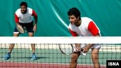 Iran- Davis Cup, Iranian double team, 02/10/2007