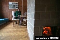 Гасьцёўня й месца для разьмяшчэньня валянтэраў у Ляцкіх
