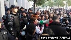 Drugi dan protesta majki u Podgorici