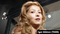 Дъщерята на бившия президент на Узбекистан Гулнара Каримова.