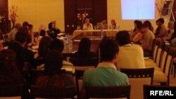 جانب من ورشة العمل حول التخطيط المكاني والشمولي والتي انعقدت في جامعة دهوك