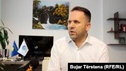 Kryetari i Odës Ekonomike të Kosovës, Berat Rukiqi.