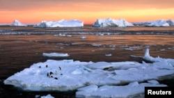 Антарктида. Көрнекі сурет.