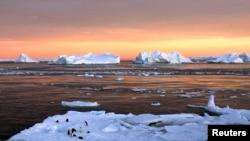 Льды у берегов Антарктиды