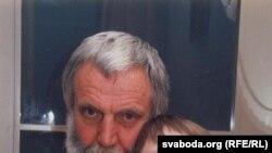 Валер Сядоў з сынам Мішам. 2003