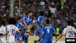 بازی دو تیم استقلال و العین در تهران