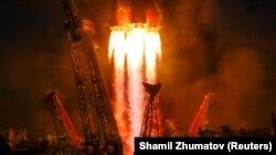 Пуск ракеты-носителя. Иллюстративное фото.