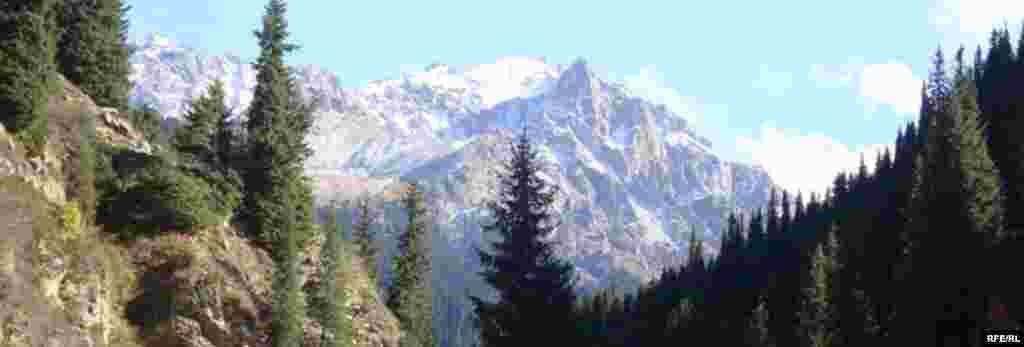 Осень в горах Иссык-Куля #6