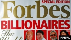The cover of the Forbes magazine, 10Mar2010