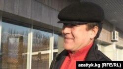 Солижон Шарипов Бишкек аэропортида.