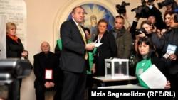Кандидат від «Грузинської мрії» Ґіорґі Марґвелашвілі