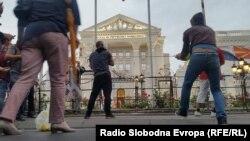 Архивска фотографија- Антивладин протест во Скопје