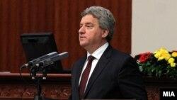 Претседателот Ѓорге Иванов во Собранието на Република Македонија
