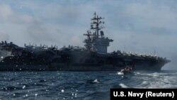 ABŞ-ın Dwight D. Eisenhower gəmisi