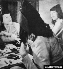 """Iris Barbura în 1942, fotografiată la Berlin pentru revista """"Signal"""""""