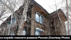 Историческое здание солдатской синагоги в Томске