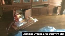 Будинок, де вранці 30 жовтня російські силовики проводили обшук. Село Жемчужина Криму.
