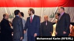 وزير الثقافة سعدون الدليمي يتقدم الحضور