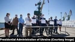 Подписание соглашения о передаче ГП «Херсонский морской торговый порт» в концессию