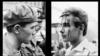 """Прага 50 лет назад. Советский солдат и чешский юноша. """"Двойной портрет"""". Фото: Пол Голдсмит, 21 августа 1968"""