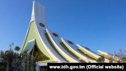 """Türkmenistanyň """"Awaza"""" syýahatçylyk zolagyndaky Kongres merkezinde"""