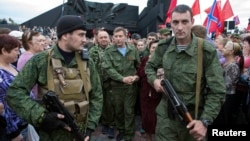 Лідер угруповання «ДНР» Олександр Захарченко, Донецьк, 8 вересня 2014 року