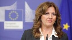 Потпретседателката на новата српска Влада Сузана Грубјешиќ.