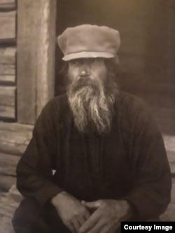 "Карельский ""колдун"", 1927–1928 гг. Фото: Л.Капица"