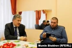 Павел Грудинин и Дмитрий Потапенко