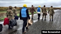 ԵԱՀԿ Մինսկի խմբի համանախագահները շփման գծի դիտարկումից հետո, 2015թ.