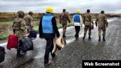 ԵԱՀԿ Մինսկի խմբի համանախագահները շփման գծի դիտարկման ժամանակ, արխիվ