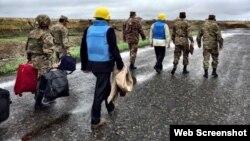 Мониторинг линии соприкосновения с участием сопредседателей Минской группы ОБСЕ (архив)