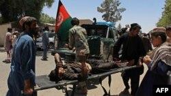 Місце нападу, Лашкар Ган, Афганістан, 22 червня 2017 року