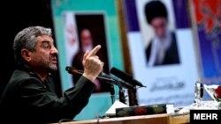 Али Джафари, командир Корпуса стражей исламской революции (КСИР). Январь 2013 года.