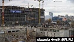 """Строительство """"Зенит-Арены"""" в Петербурге"""
