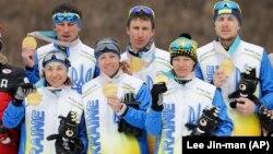 Частина учасників української збірної на XІІ зимових Паралімпійських іграх