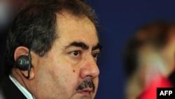 Ирактын тышкы иштер министри Хошяр Зебари Түркияда.