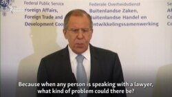 Lavrov Calls Accusations Directed At Trump's Son 'Wild'