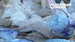 У Кеніі са сьмецьця пачалі рабіць чаўны