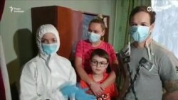 Керівник МОЗ України Зоряна Скалецька в Нових Санжарах