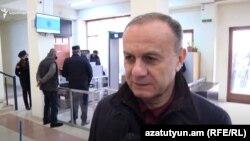 Бывший министр обороны Армении Сейран Оганян в суде, 19 января 2020 г.
